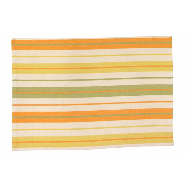Kiawa 100% Cotton 18 Placemat (Set of 6) by Traders and Company